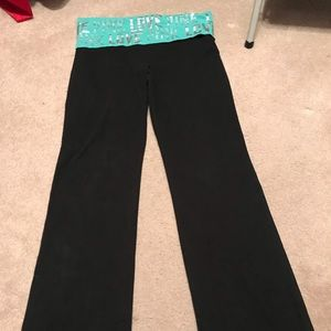 VS BLING Yoga Pants LARGE